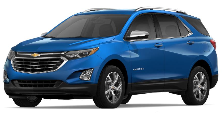 2019 Chevrolet Equinox Kinetic Blue Metallic