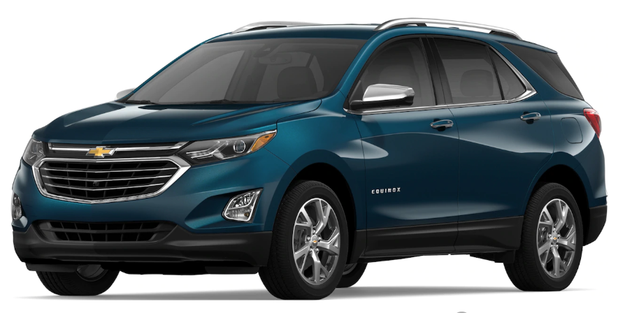 2019 Chevrolet Equinox Pacific Blue Metallic