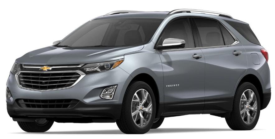 2019 Chevrolet Equinox Satin Steel Metallic