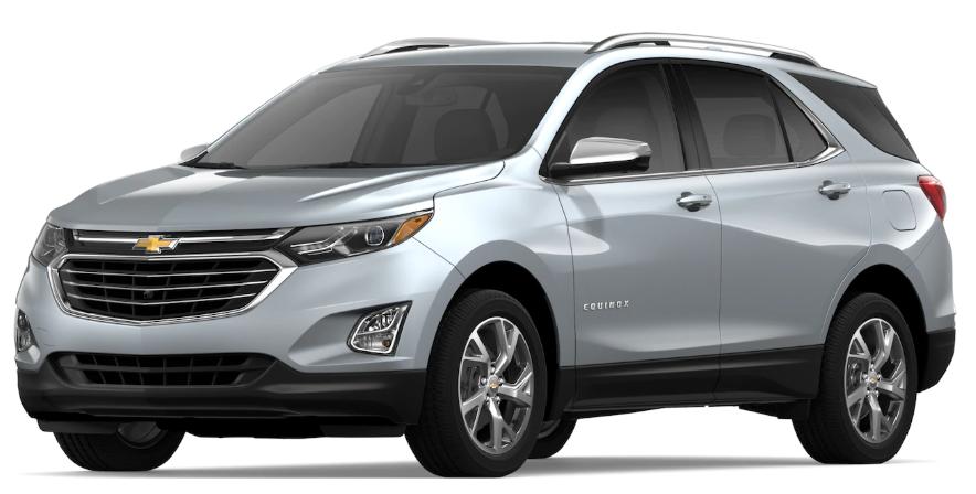 2019 Chevrolet Equinox Silver Ice Metallic