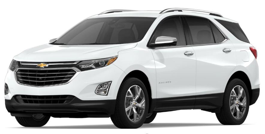 2019 Chevrolet Equinox Summit White
