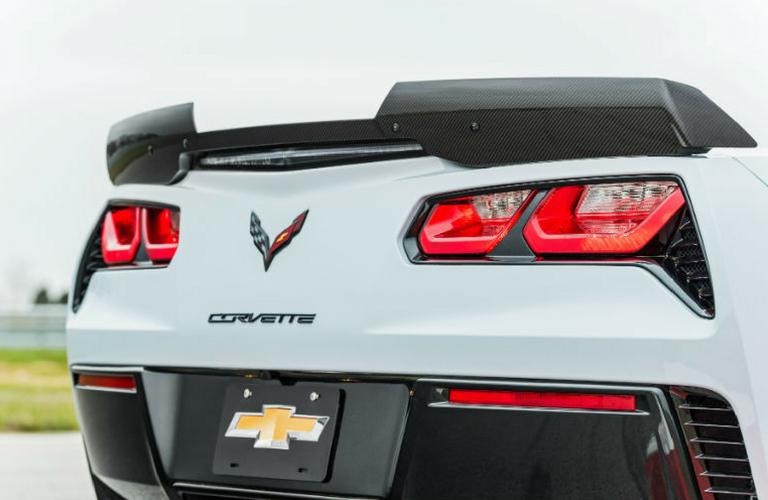 2018 Chevrolet rear