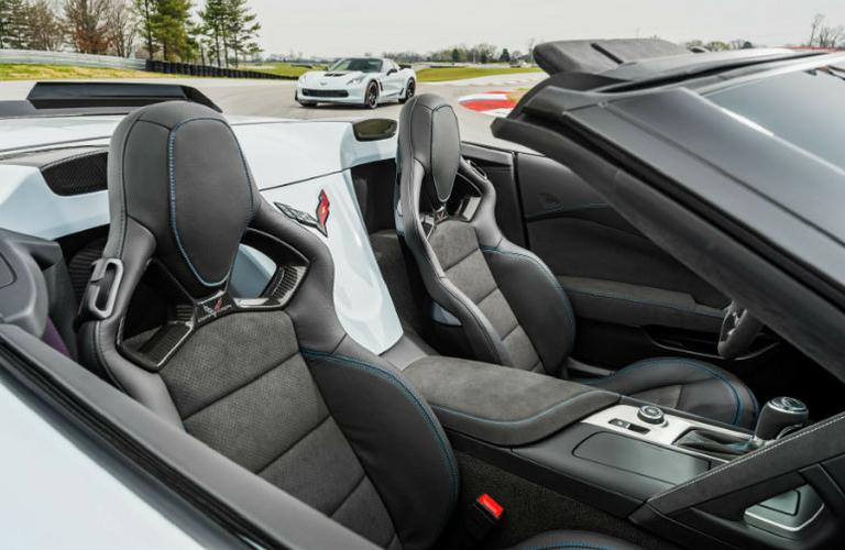 2018 Corvette interior