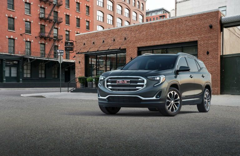 front exterior view of 2018 GMC Terrain