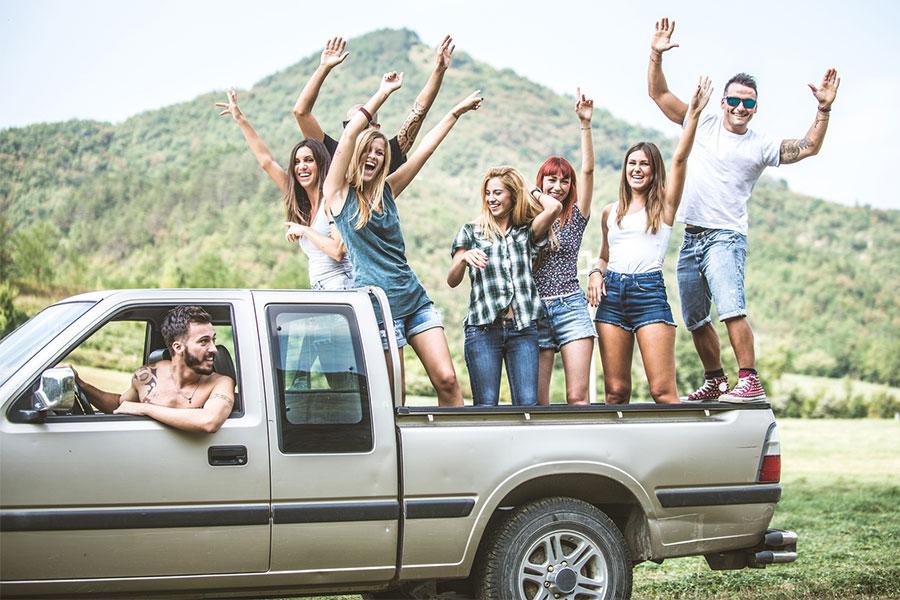 Pick-up Outdoor Adventure