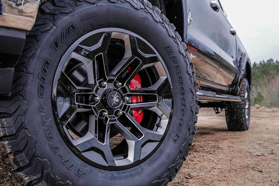 Big Lifted Truck Wheels