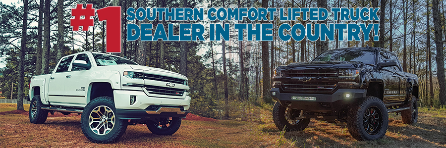 Southern Comfort Lifted Trucks Burlington Chevrolet