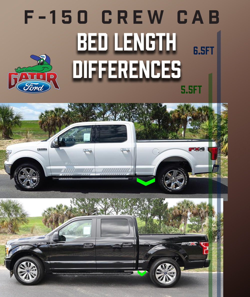 F 150 Crew Cab Bed Length