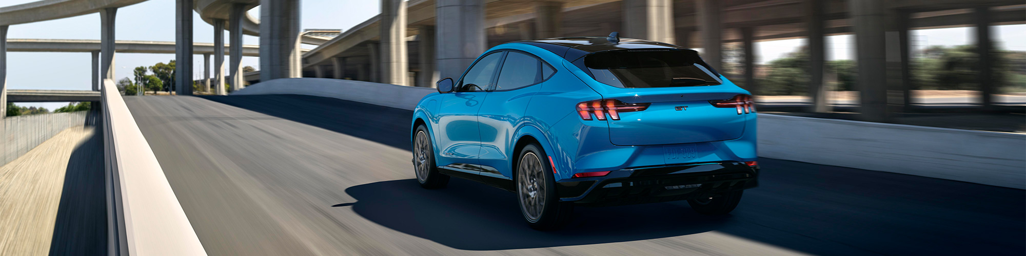 2021 Ford Mustang Mach-E Back