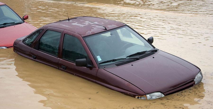 Flood Damaged Car Check