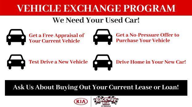 Raceway Vehicle Exchange