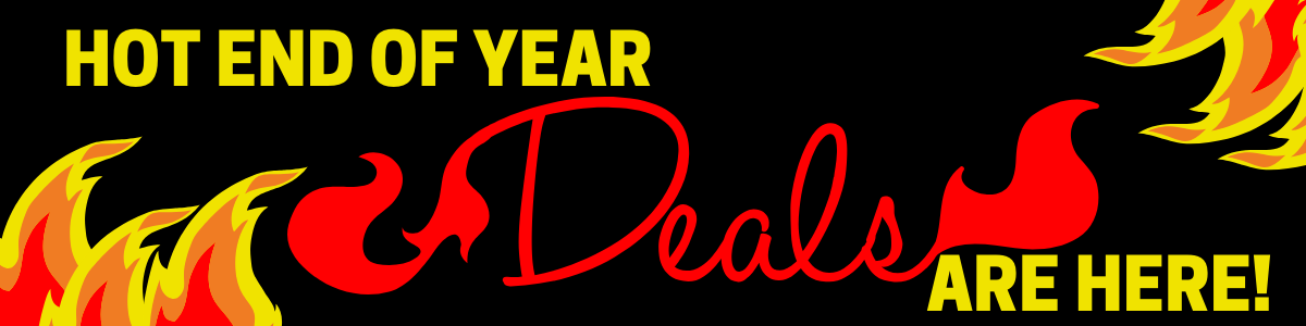 Hot End of Year Deals Are Here