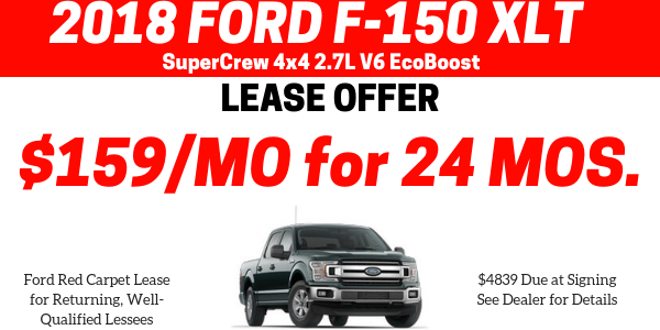End of Year F150 Lease Offer