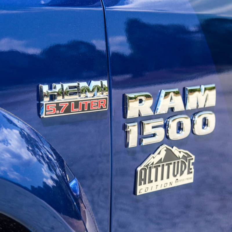 Rocky Ridge Ram 1500 Altitude Badging