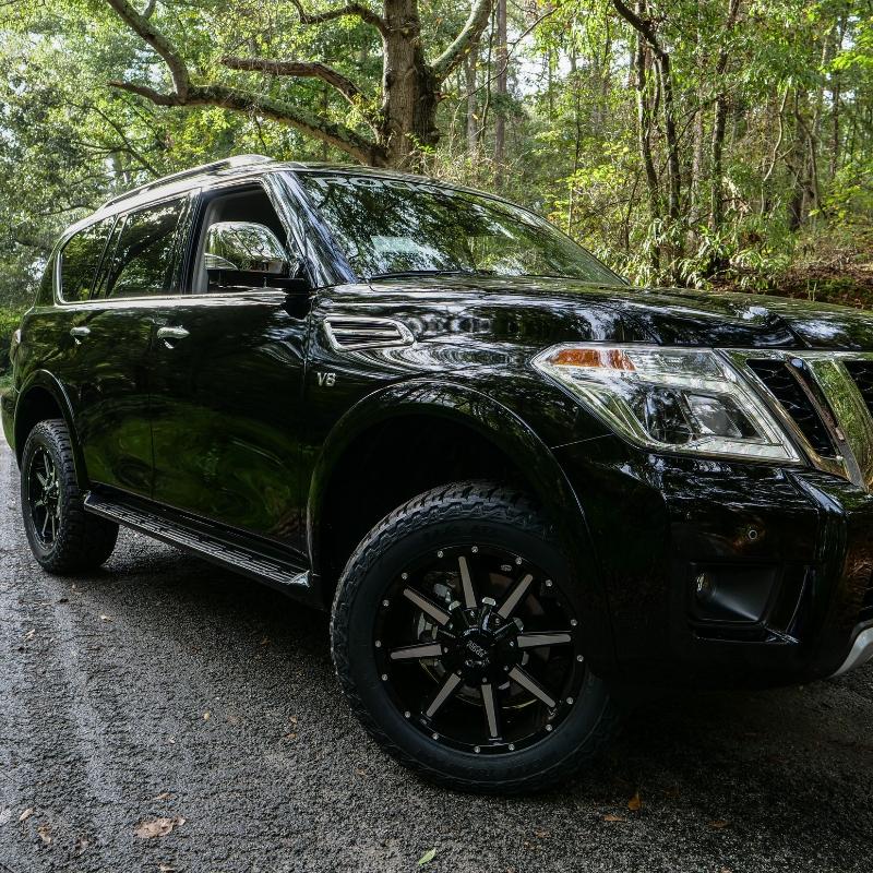 Black Nissan Armada Z3