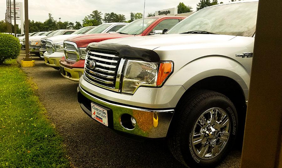 Used Trucks Under $15,000