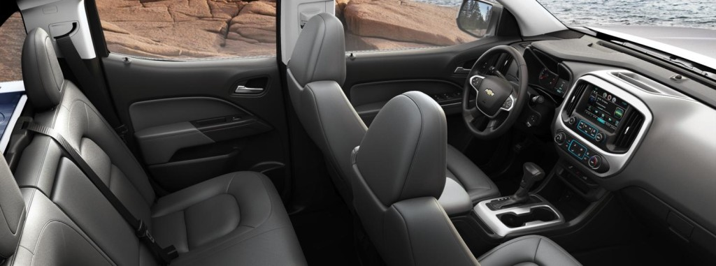 2015 Chevy Colorado Interior NJ