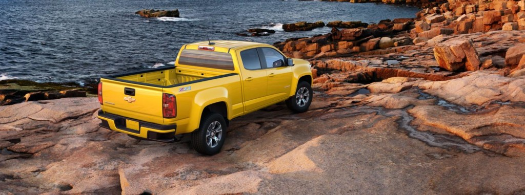 2015 Chevy Colorado Back NJ