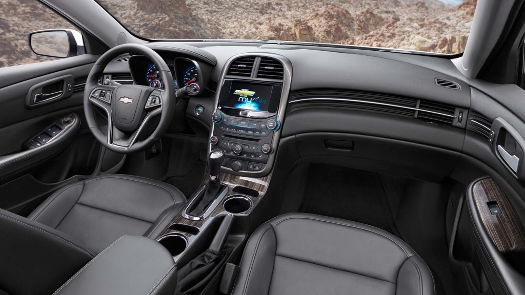 2014 Chevy Malibu Interior Burlington