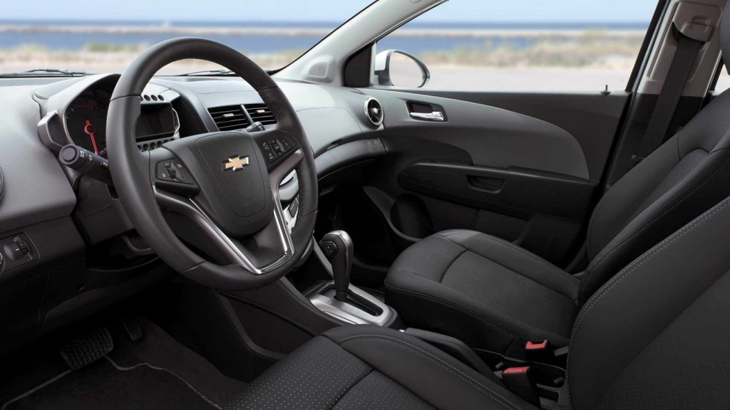 2014 Chevy Sonic Interior