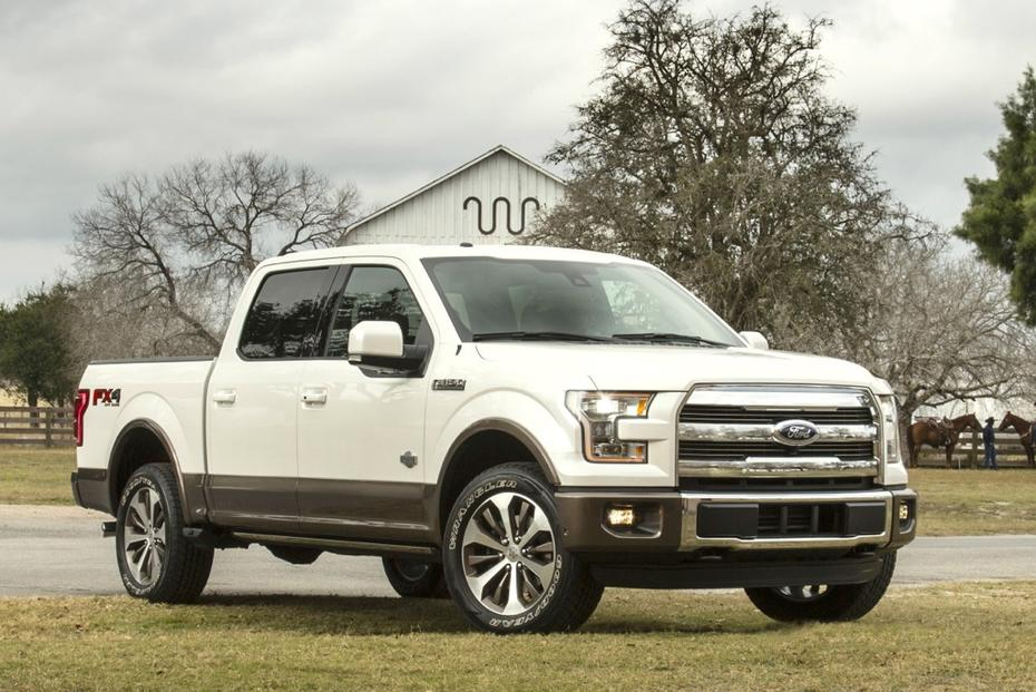 newly redesigned 2015 ford f 150 king ranch is a luxury take on ford. Black Bedroom Furniture Sets. Home Design Ideas