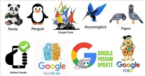 Những thuật toán phổ biến nhất của Google ảnh hưởng tới SEO nhất là gì?