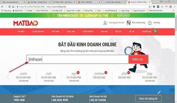 Top 5 website cung cấp tên miền giá rẻ