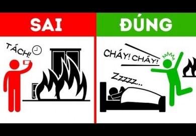 9 lời khuyên của lính cứu hỏa để giúp bạn sống sót khi cháy nhà