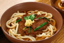Cách làm Mì Udon bò áp chảo