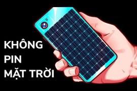 Tại sao điện thoại không có tấm pin mặt trời