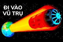 10 cách du hành vũ trụ mới