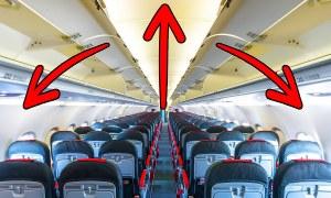 Tại sao máy bay trông rộng rãi hơn thực tế