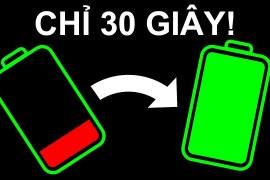 Hơn 20 thủ thuật để sạc pin điện thoại nhanh và an toàn hơn