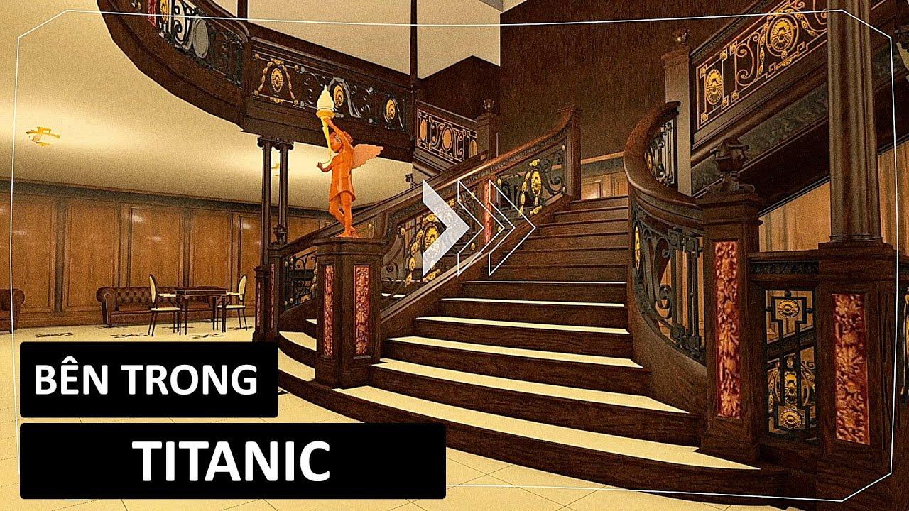 Chuyến tham quan thực tế ảo bên trong tàu Titanic