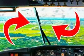 Tại Sao Phi Công Không Dùng Cần Gạt Nước Khi Lái Máy Bay Trong Ngày Mưa