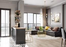 Những lưu ý khi thiết kế nội thất chung cư cần quan tâm là gì?