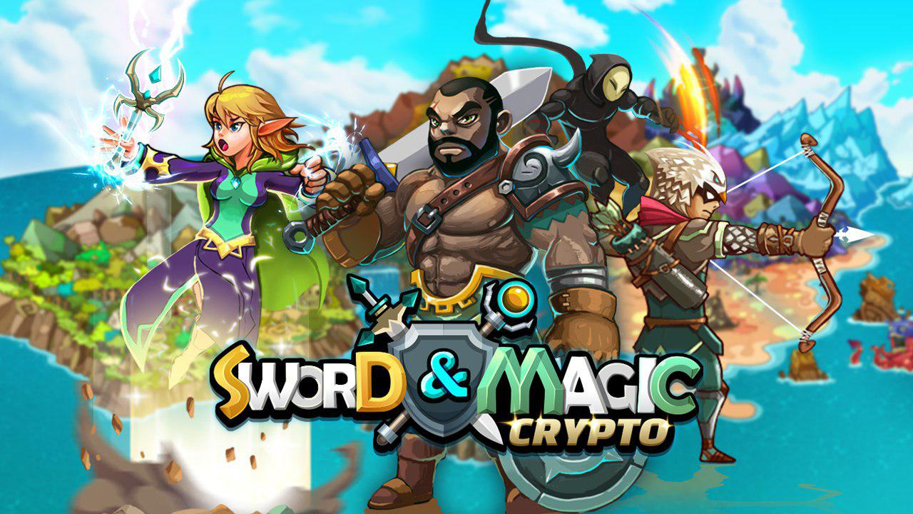 Image result for crypto sword & magic