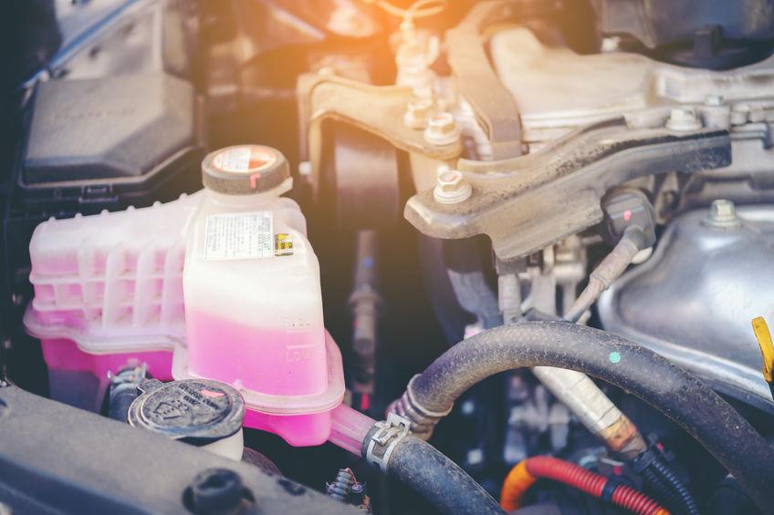 changement et purge liquide de refroidissement