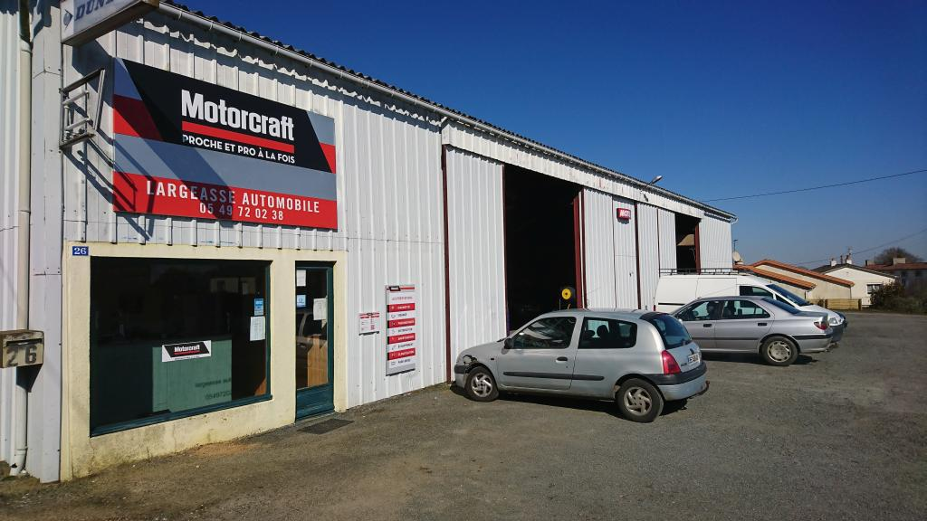 garage automobile motorcraft