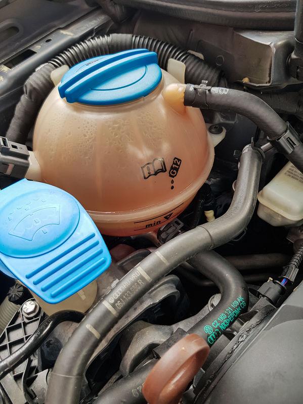 rouler sans liquide de refroidissement