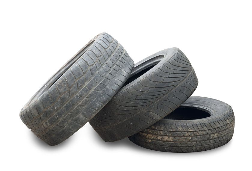 pneus usés