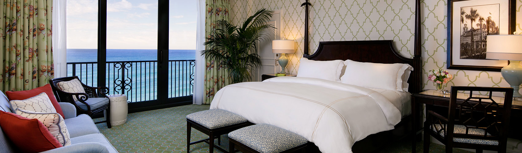 Atlantic Guest Room with Oceanfront View and King Bed