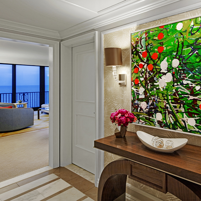 Royal Poinciana Suite with Oceanfront View Bathroom