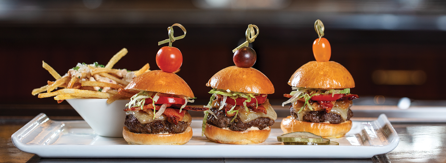Wagyu Beef Sliders at HMF at The Breakers
