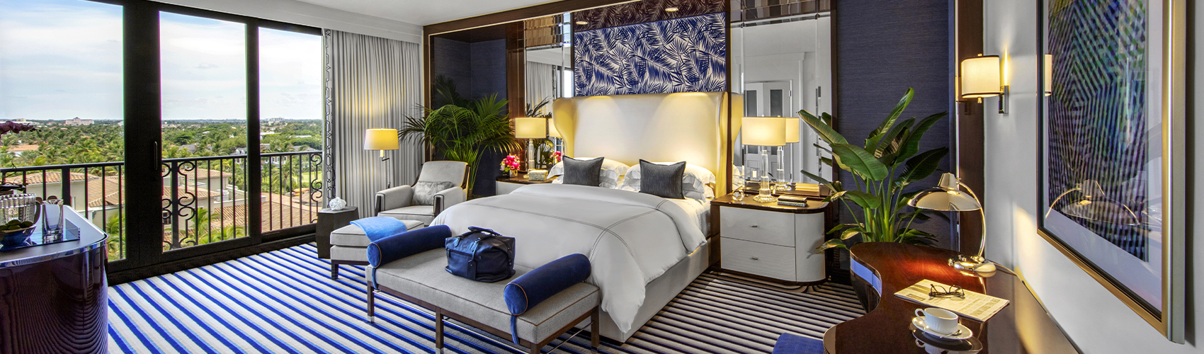 Imperial Suite with Oceanfront View Bedroom