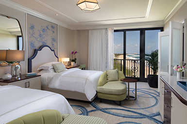 Premium Guest Room with Partial Ocean View