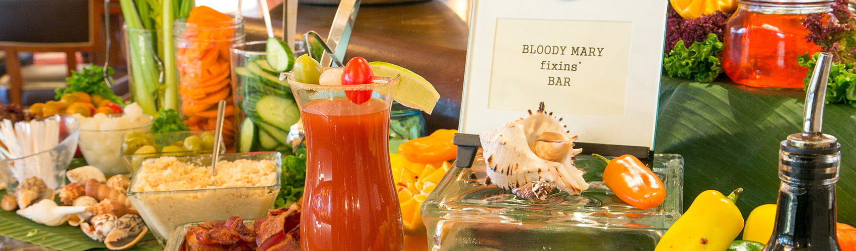 Sunday Brunch Bloody Mary Bar at The Circle at The Breakers