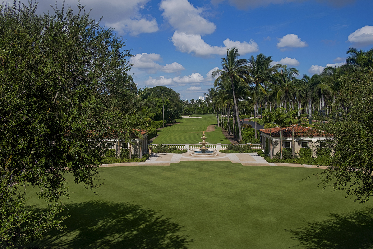 Front Lawn at The Breakers