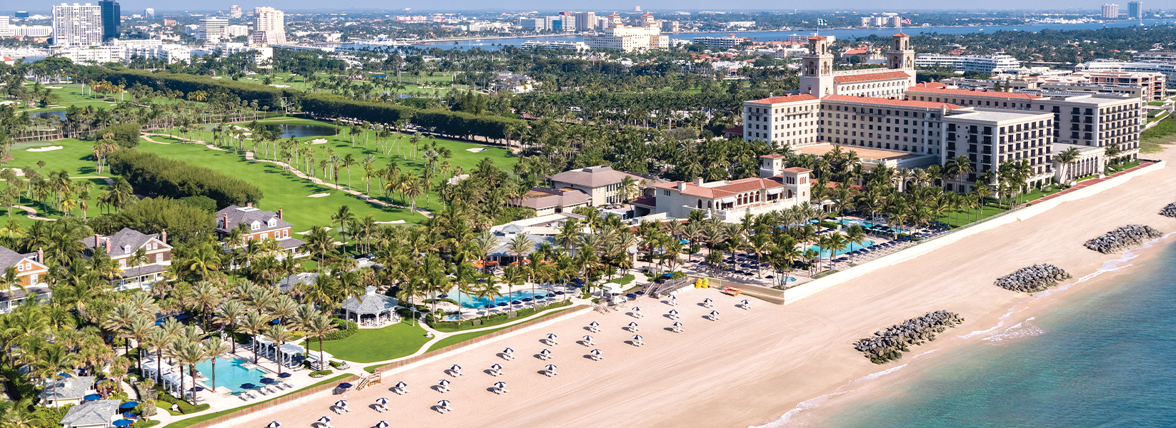Aerial view of The Breakers Beachfront Experience