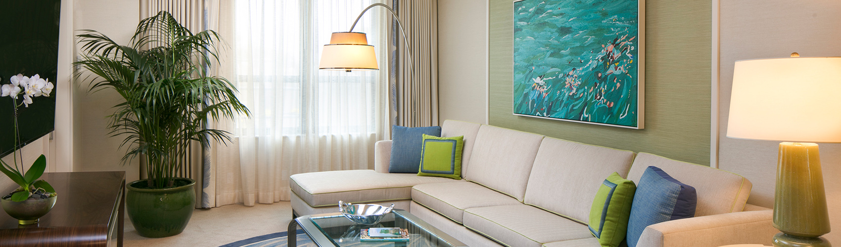 Accessible Suite Limited View Living Room